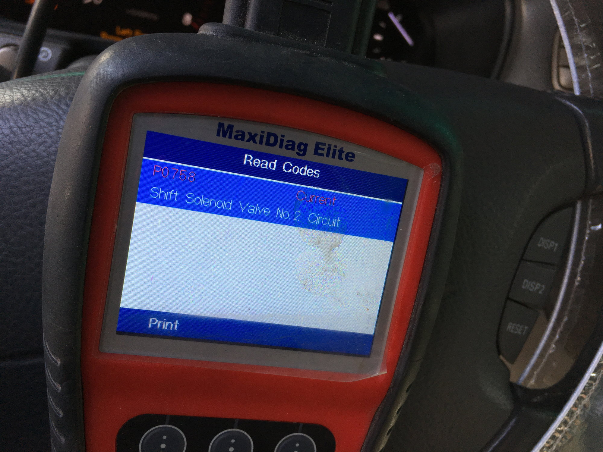 hight resolution of getting a check engine code p0758 shift solenoid