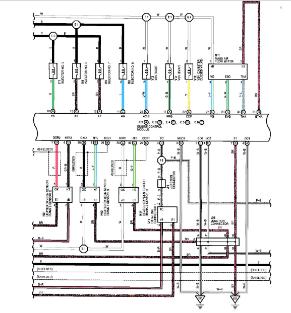 Diagram Gs430 Ecu Pinout And Wiring Diagrams Clublexus