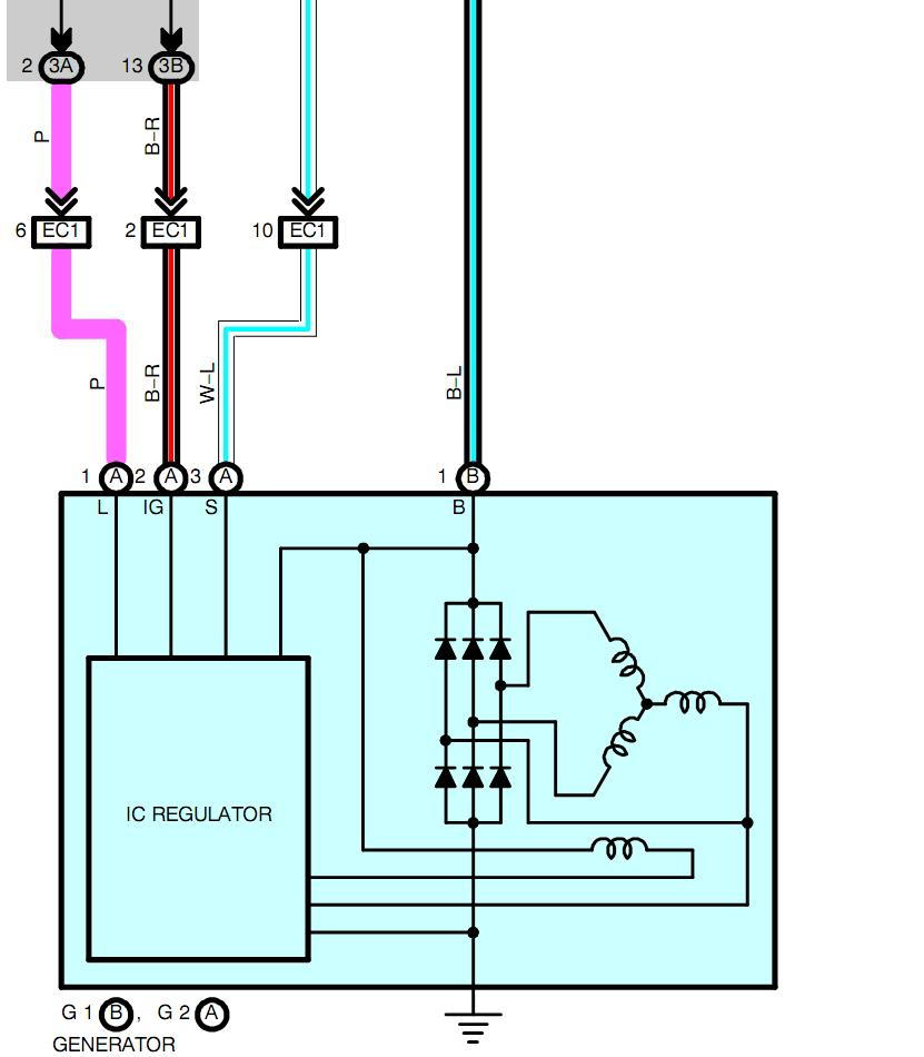 Lexus Alternator Wiring Diagram Free Download Wiring Diagram | Xwiaw ...