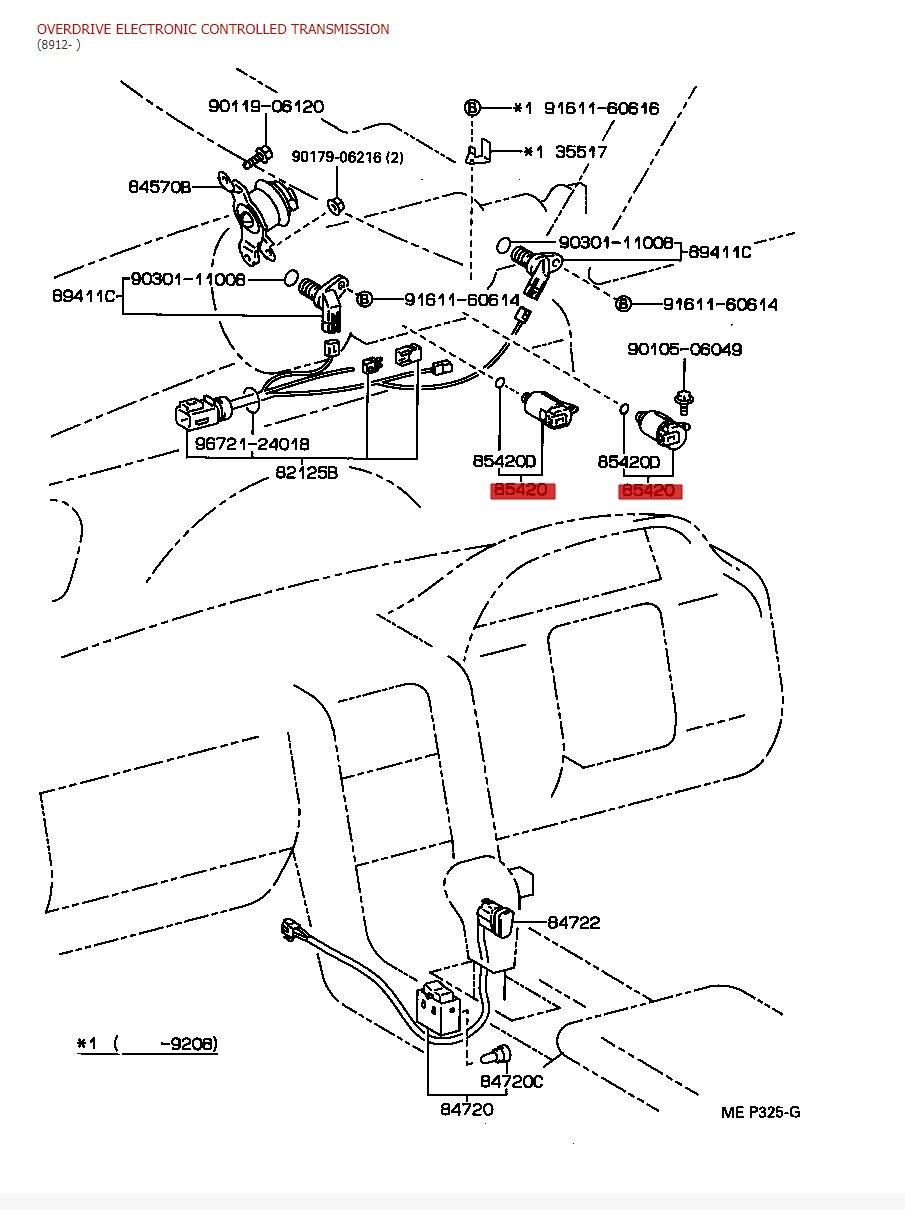 [DIAGRAM] Lexus Ls400 Transmission Wiring Diagram FULL