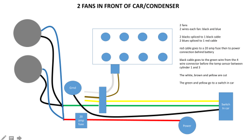 small resolution of switch but i would like to bring it back to stock can radiator fan diagram
