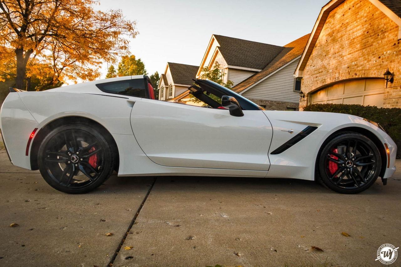 58 Corvette Project Car
