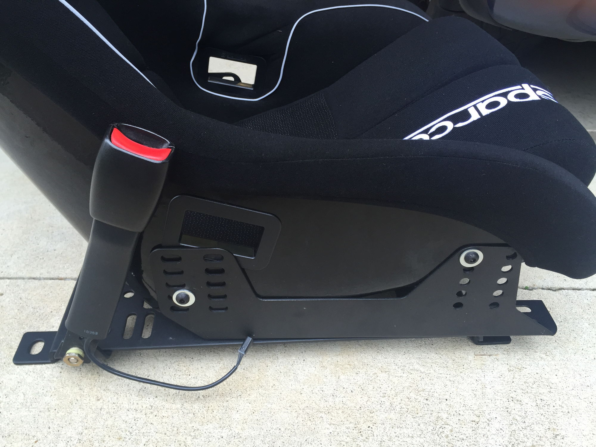corvette seat office chair timothy oulton mimi sparco evo ii us install piece of cake corvetteforum