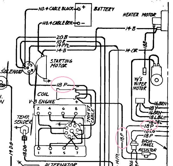 1968 Corvette Convertible Radio Installation Schematic