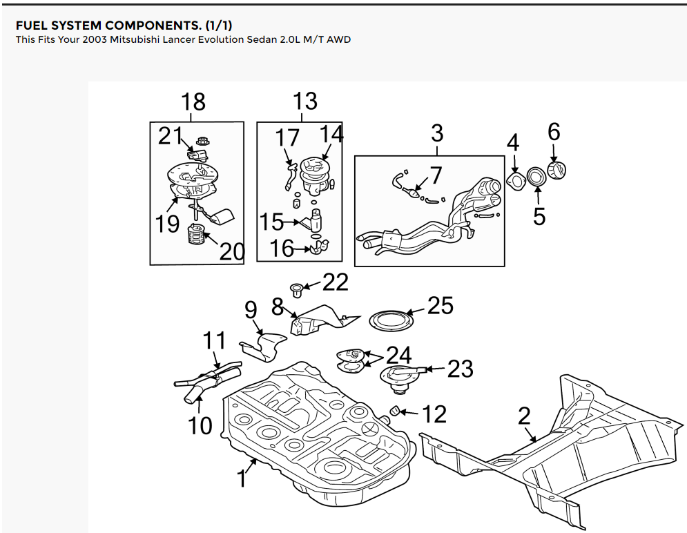 Fuel System Components Rusted / Need Replacement