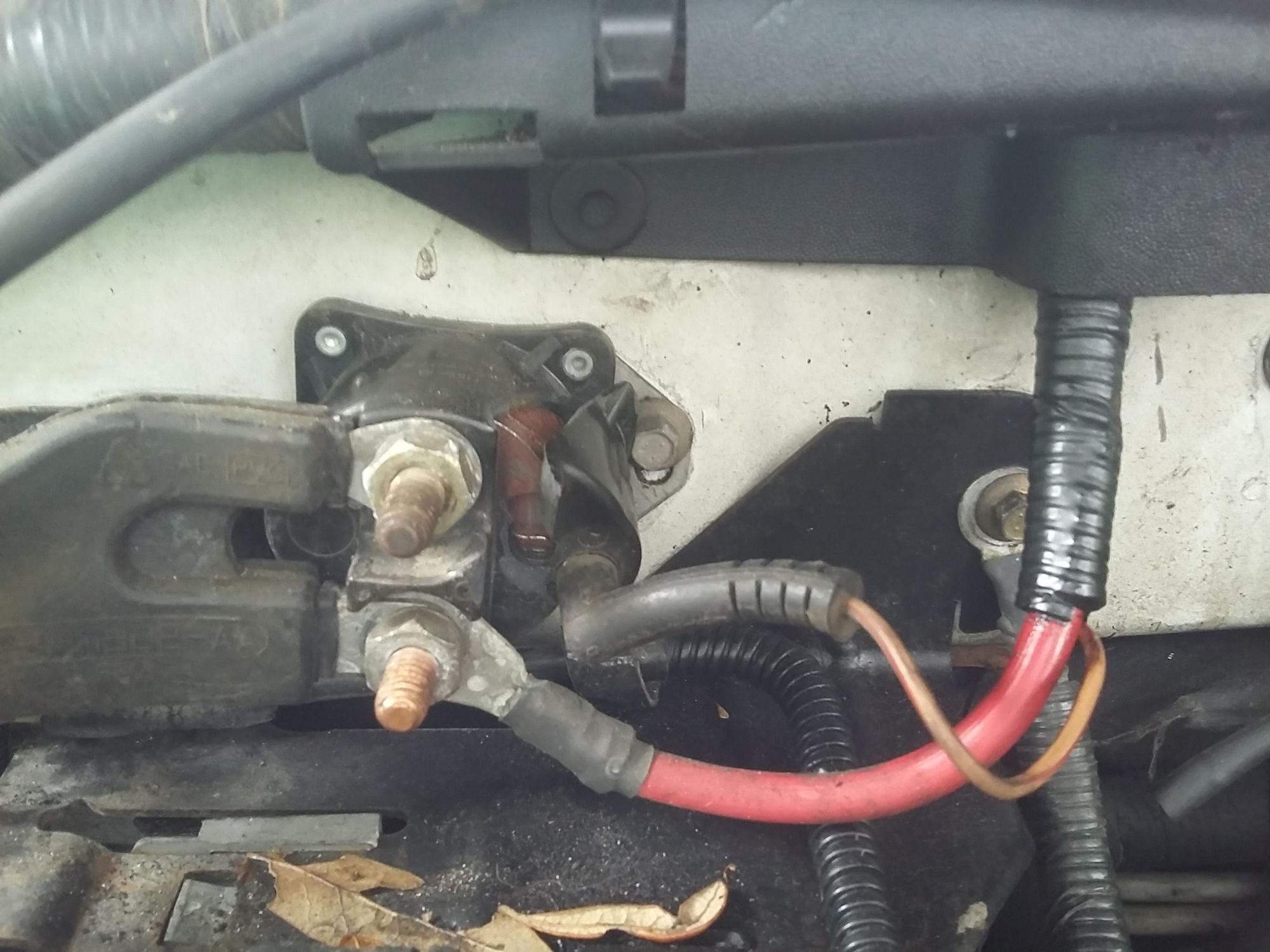 1997 ford f150 starter solenoid wiring diagram vectra b abs wont start no power 2017 2018 2019