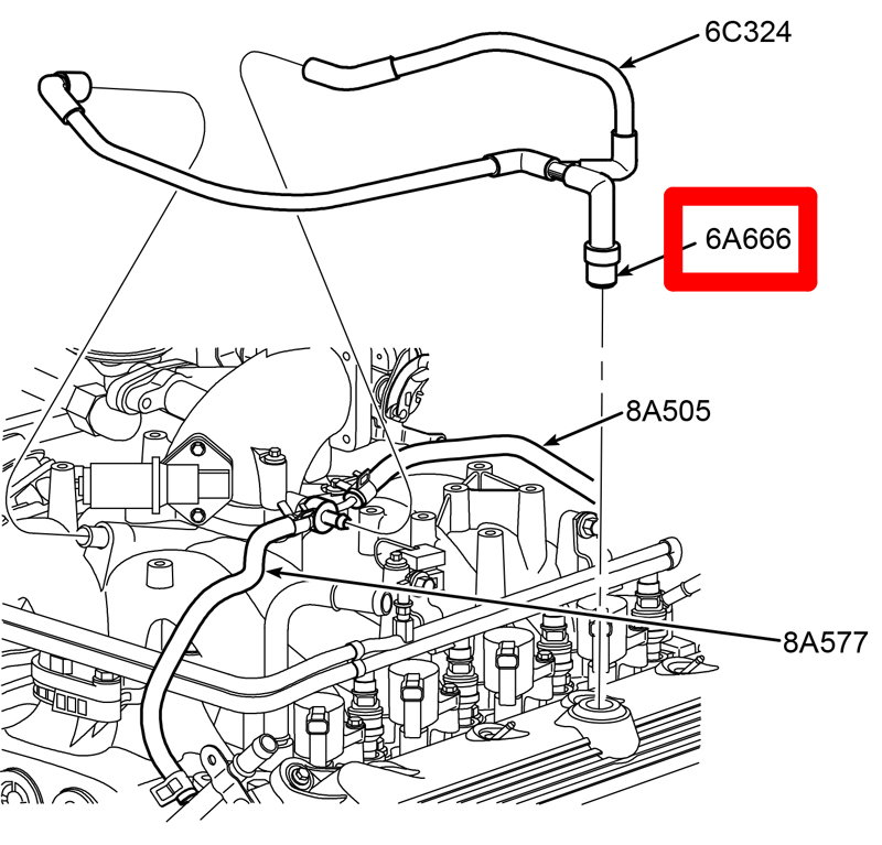 2000 Ford F150 Heater Hose Diagram. Ford. Wiring Diagram