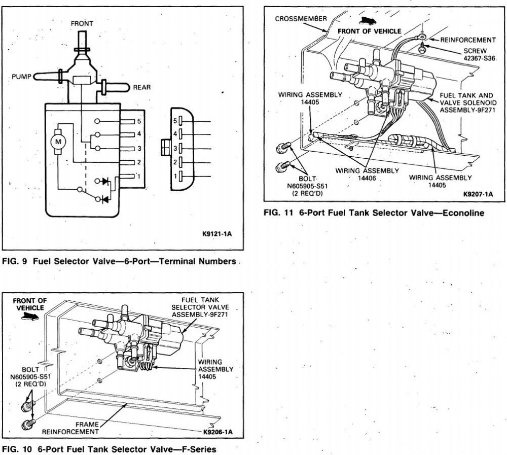 medium resolution of ford fuel tank selector switch wiring diagram
