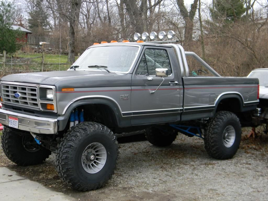 Inch Lift 1990 4 Lift 250 Inch Body F 4x4 2 Suspension Ford