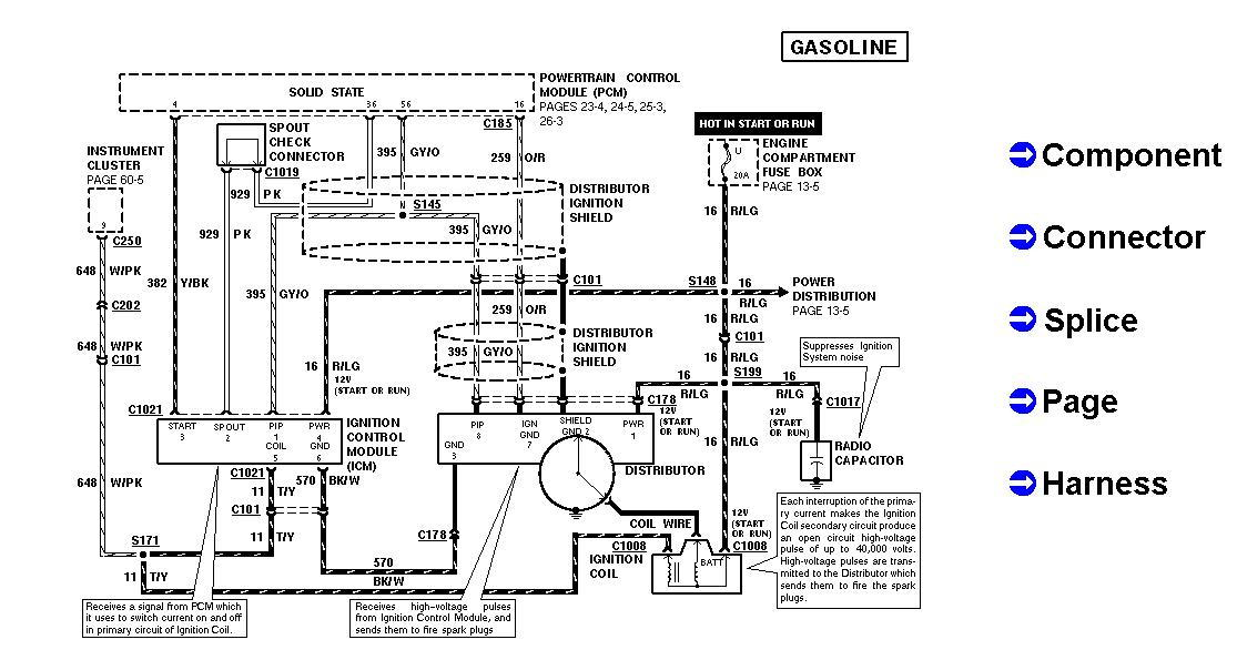 2005 ford style ignition wiring diagram
