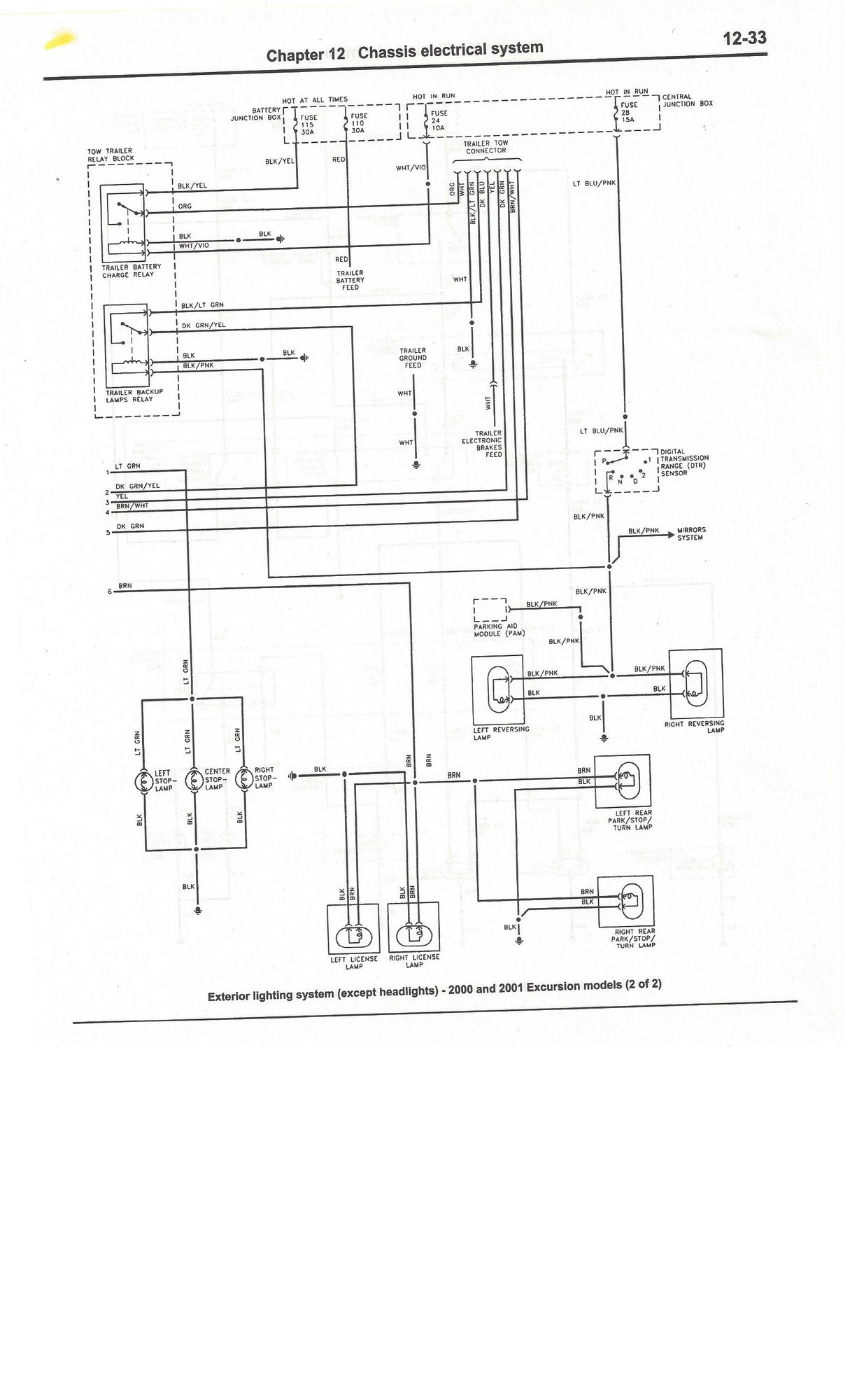 Ford F 250 V1 0 Fuse Diagram