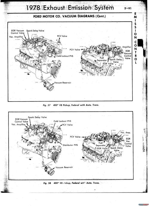 small resolution of ford 400m vacuum diagram 1979 ford auto wiring diagram 302 engine vacuum hose diagram f150 intake