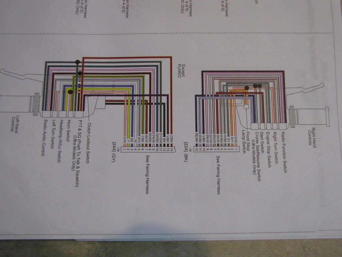 hight resolution of wiring diagram 2013 road king harley davidson forums here are the 2012 schematics good luck