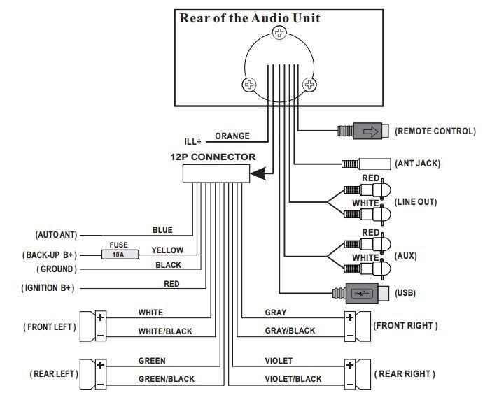 infinity prv250 wiring diagram