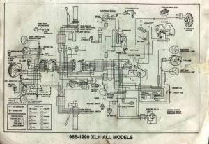 Need a wiring diagram for a 1987 883 Sportster  Harley