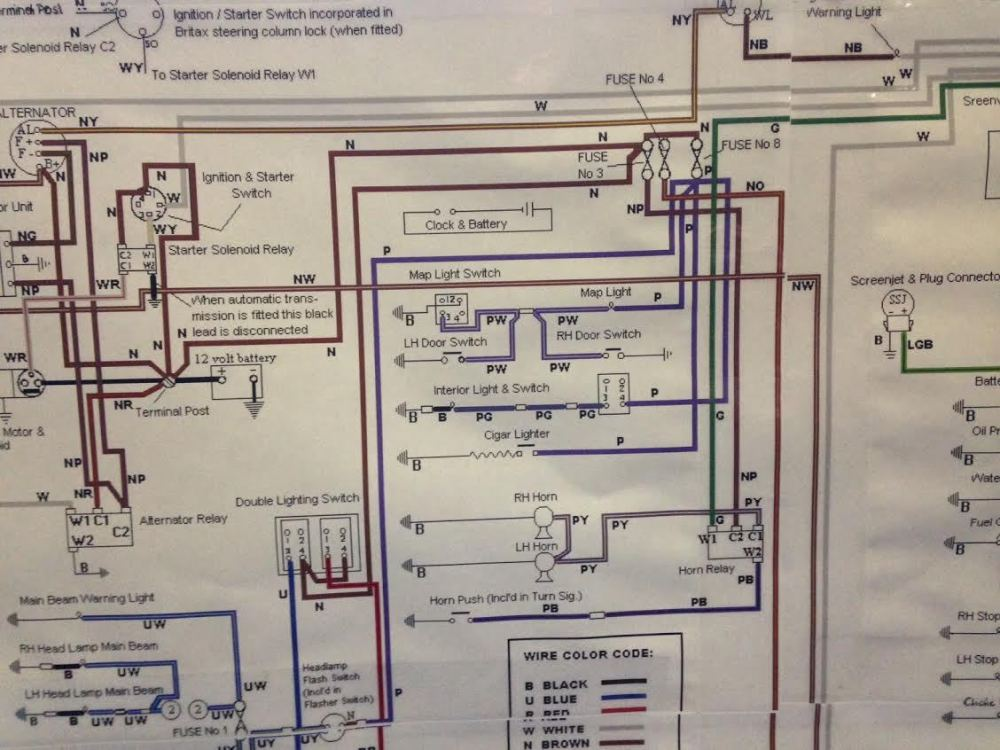 medium resolution of some time ago i d found a 1970 wiring diagram on the net printed