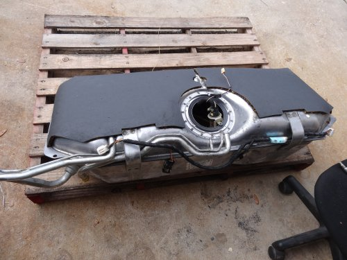 small resolution of 2000 jaguar xk8 fuel tank removed