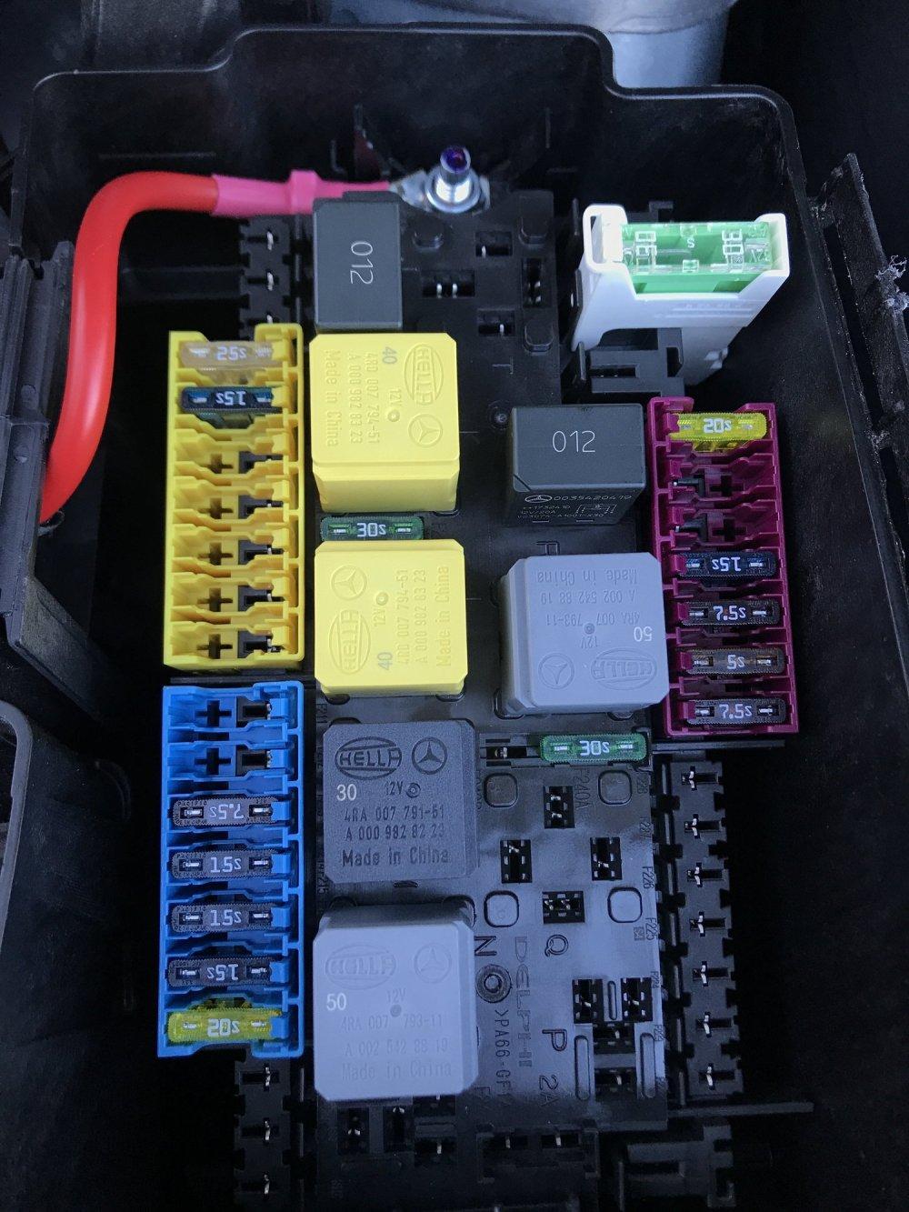 medium resolution of  18 gle350 fuse box