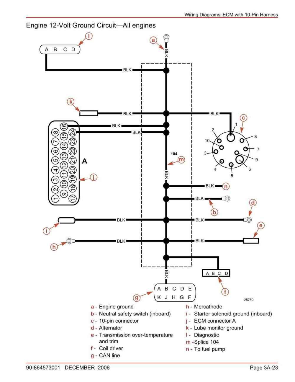 medium resolution of problems starting and running mercruiser 5 7l 350 mag mpi the hull rh thehulltruth com mercruiser electrical system wiring diagrams mercruiser tilt trim