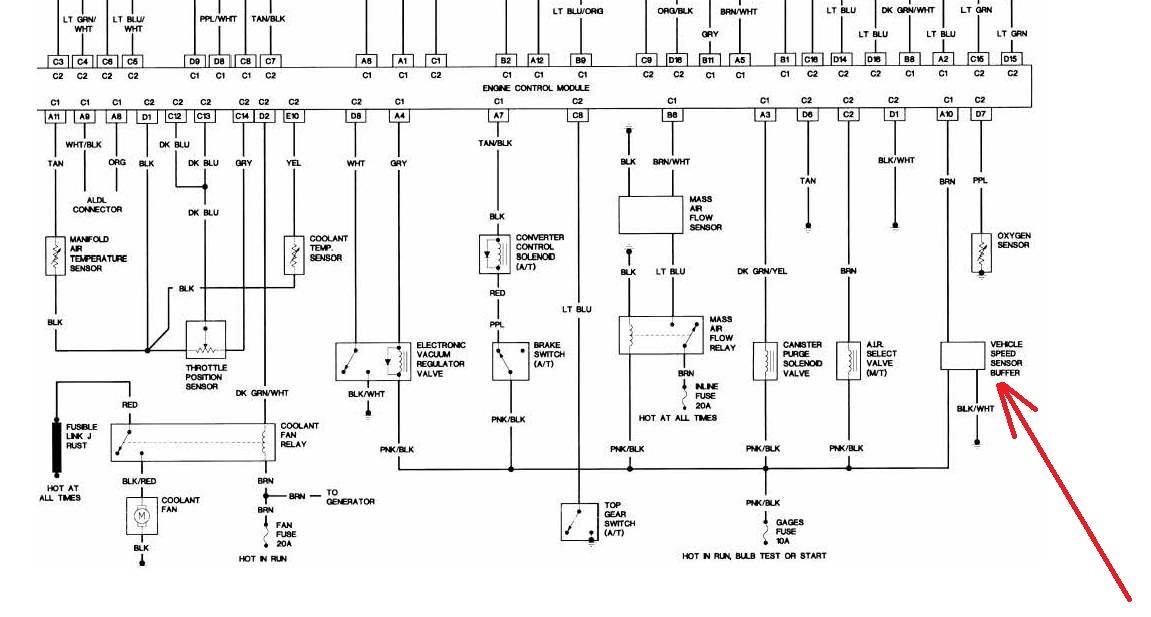 1988 camaro engine wiring diagram