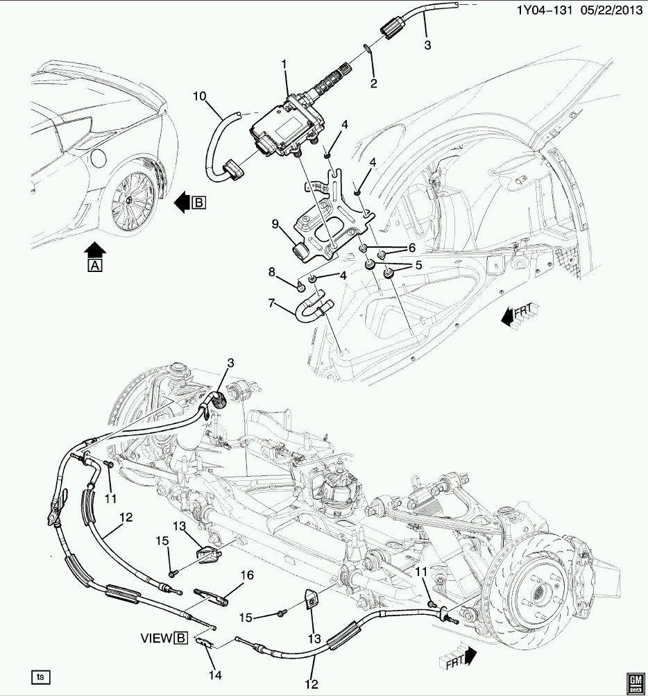 Corvette C6 C7 How to Replace Parking Brake Shoe and
