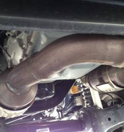 step 3 reinstall dpf and catalytic converter [ 1024 x 768 Pixel ]