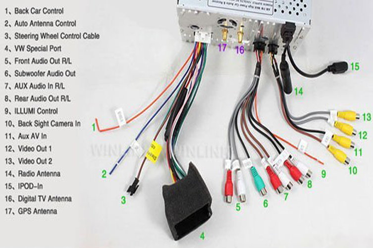 2008 ford f150 stereo wiring diagram 240 vac f250 how to install car - ford-trucks