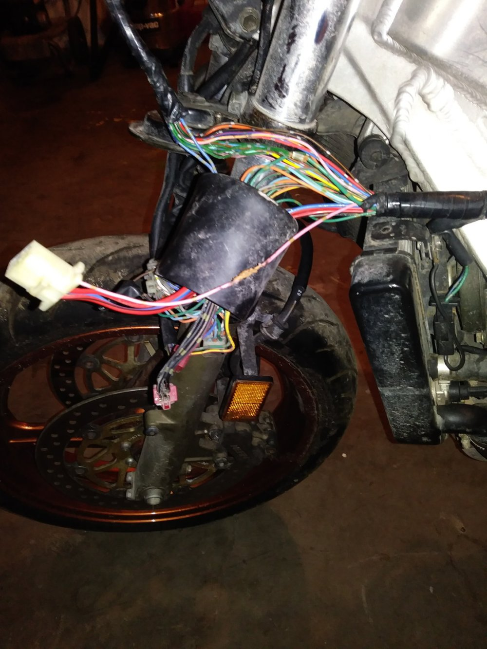 medium resolution of  time dealing with a street bike and other than the basics i don t quite know much about bikes below are pictures of the wire i was wondering about