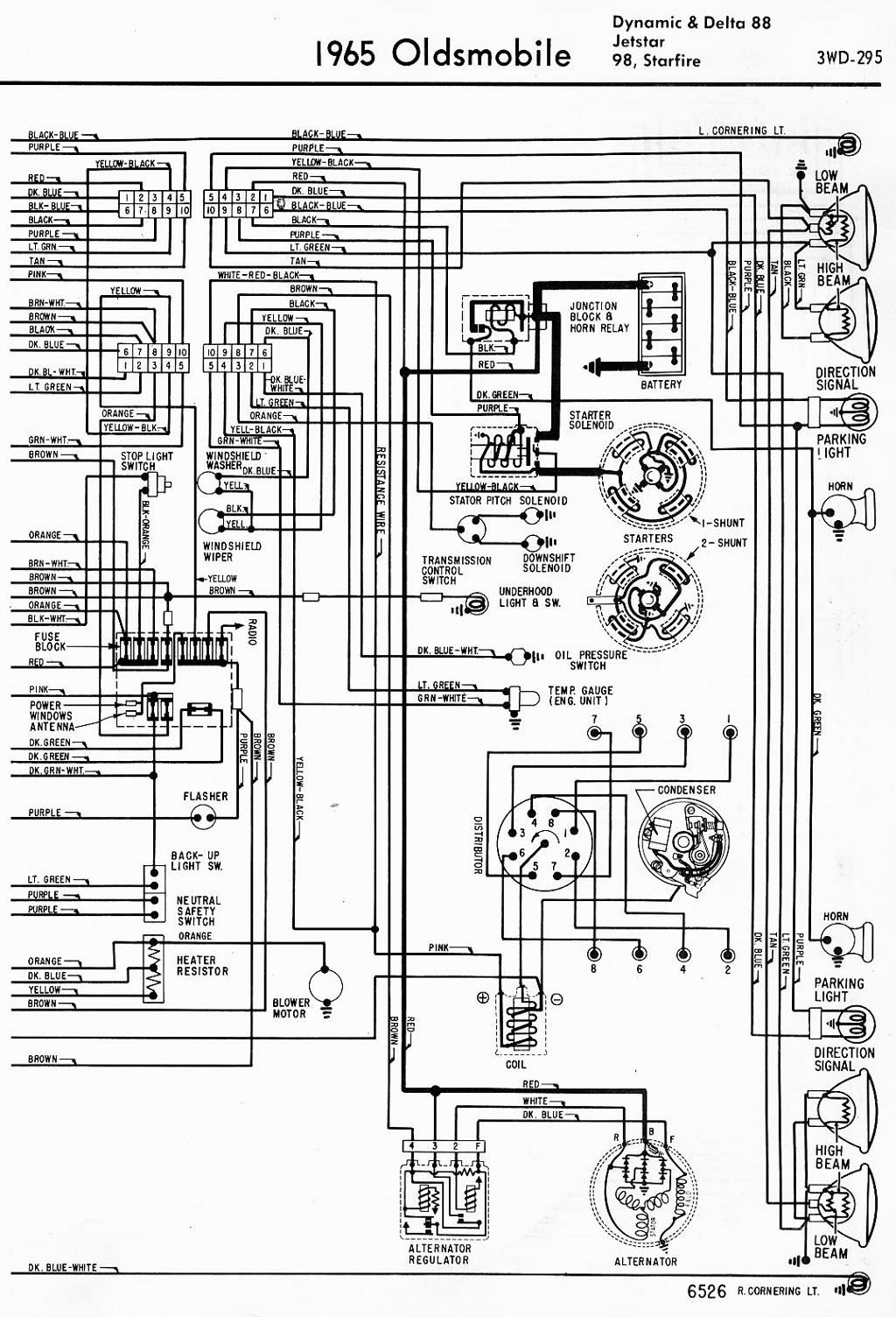 hight resolution of 65 olds wiring diagram wiring diagram 1965 oldsmobile 98 wiring diagram