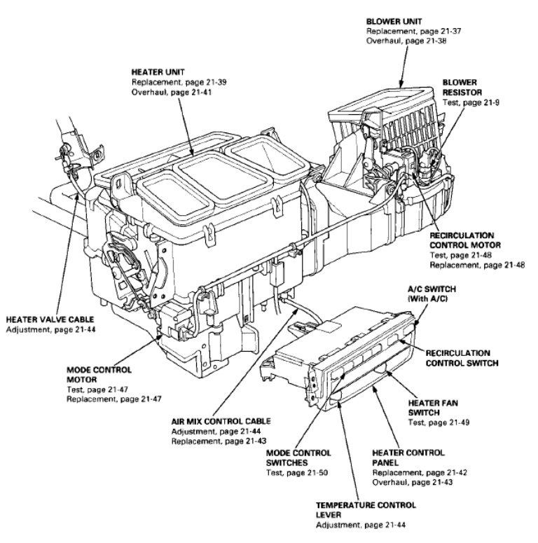 2007 honda odyssey electrical diagram