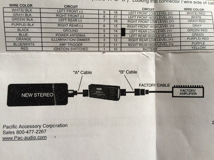 It Out Of The Dash Here Is A Wiring Diagram Of A Normal Sub Wiring
