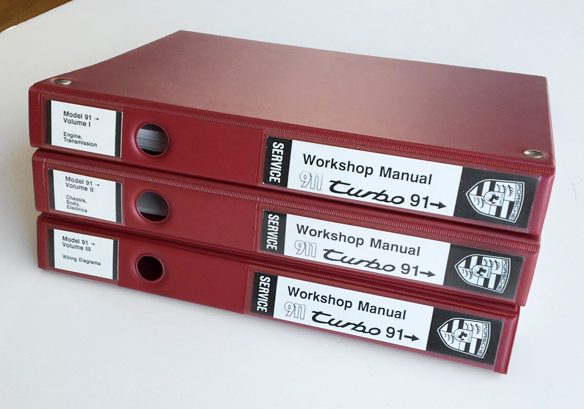 hight resolution of 1991 1993 911 turbo workshop manuals rennlist porsche discussion