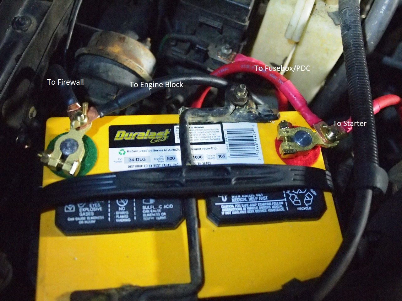 05 Lincoln Town Car Fuse Box Corroded Battery Cable Replacement Tons Of Pics Summary