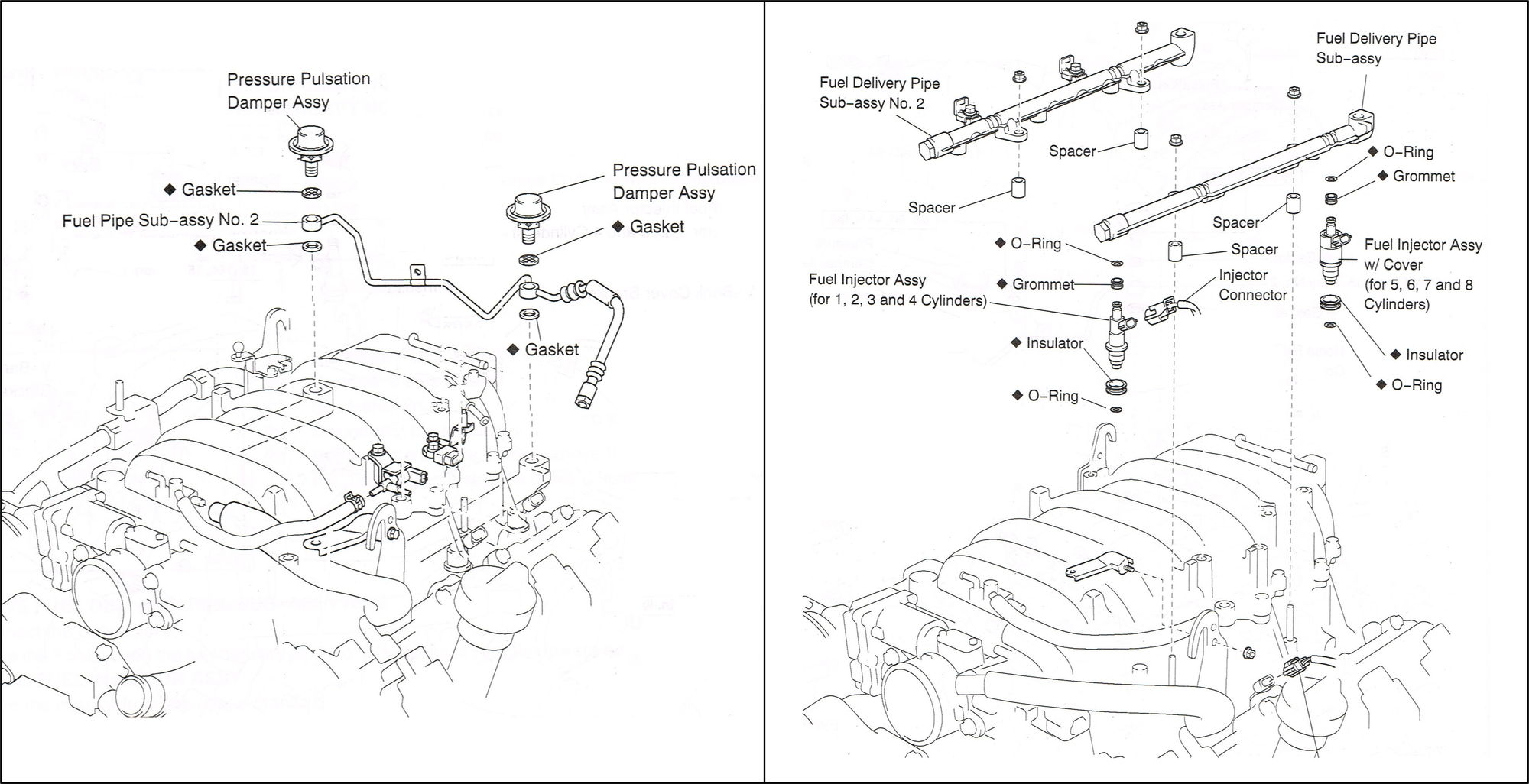 Probable Causes Of Gas Smell Under Hood 03 Ls430
