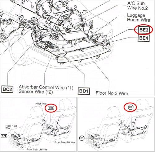 small resolution of lexus seats diagram tech tips wiring diagrams u2022 rh elitemamasblog com pioneer avh p3200bt wiring