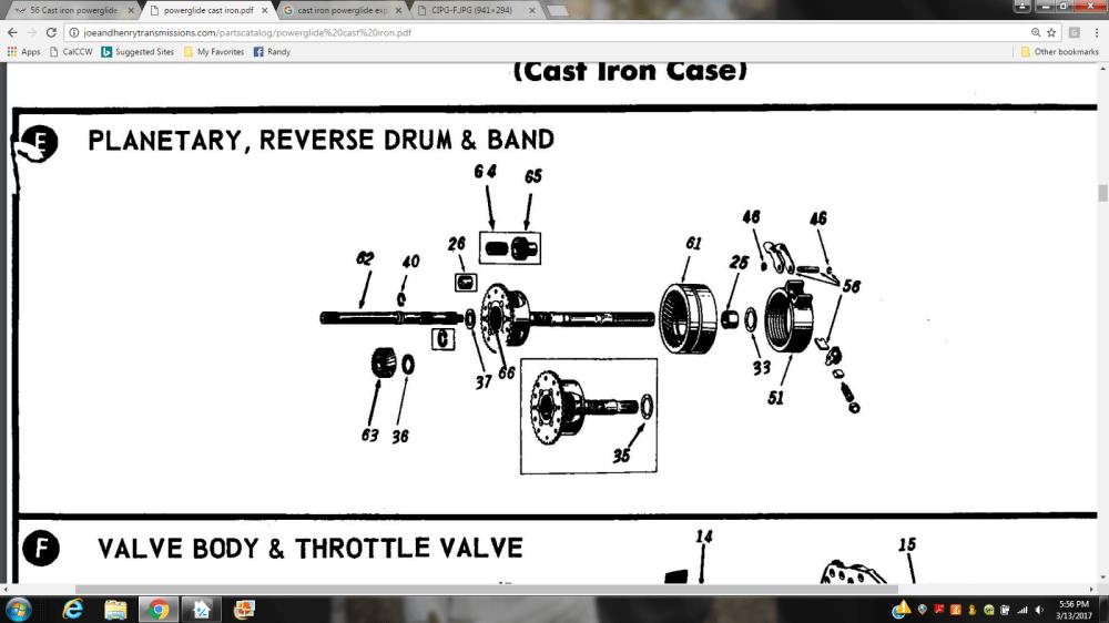 medium resolution of 56 cast iron powerglide corvetteforum chevrolet corvette forumthis is a pdf of the cast iron powerglides