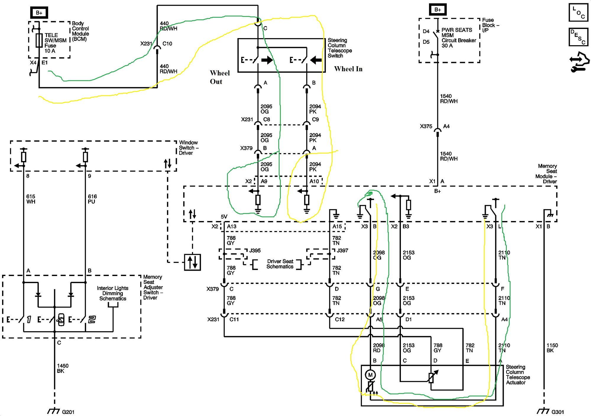 c5 corvette power seat wiring diagram 2008 cobalt stereo tele harness bass elsalvadorla