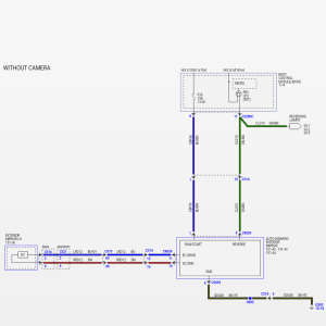 Wiring diagram auto dimming rear view mirror??  Ford F150