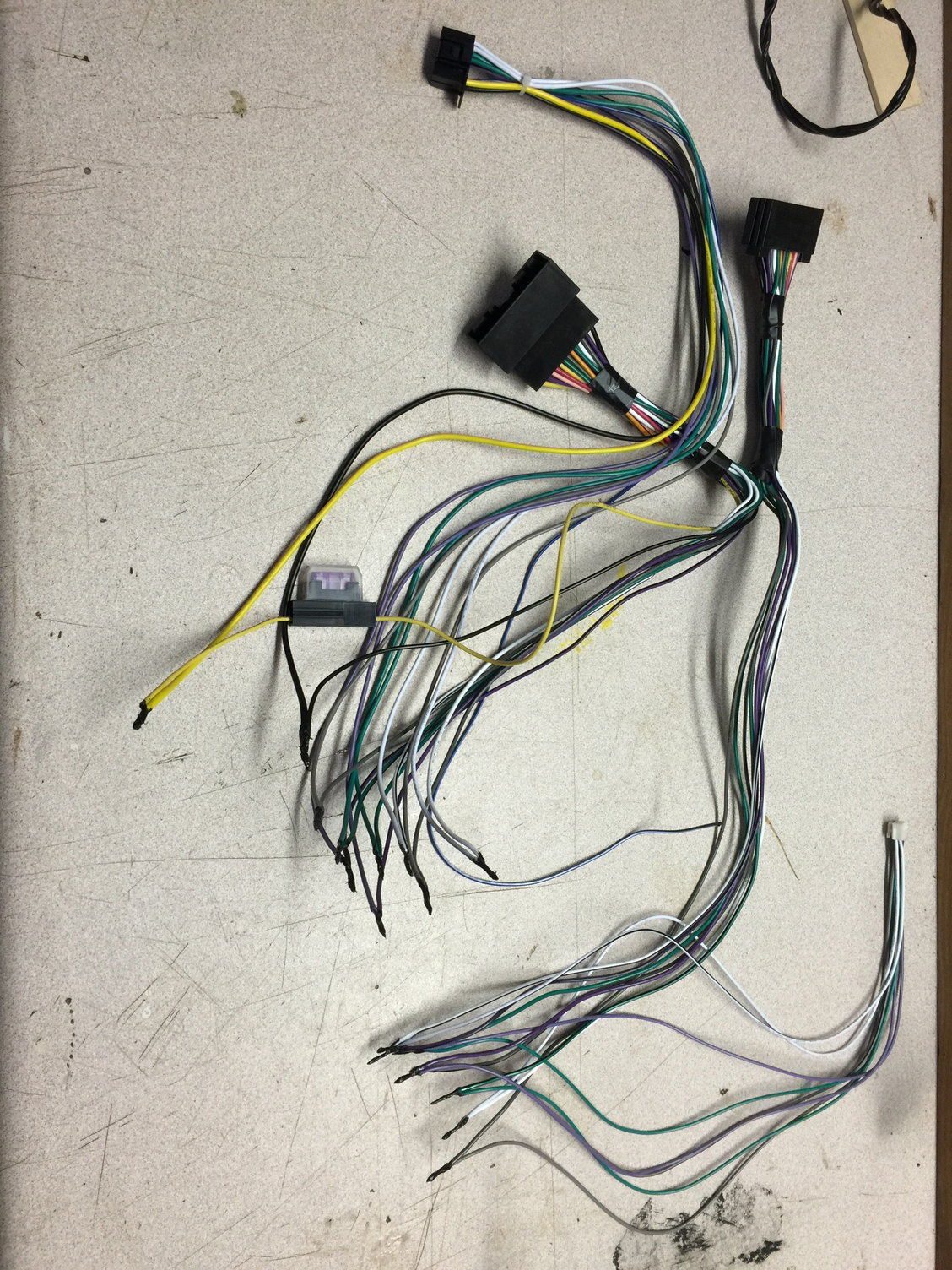 hight resolution of i just soldered the wires together from the parrot harness and pioneer amp however a prior post stated to ground to the metal frame