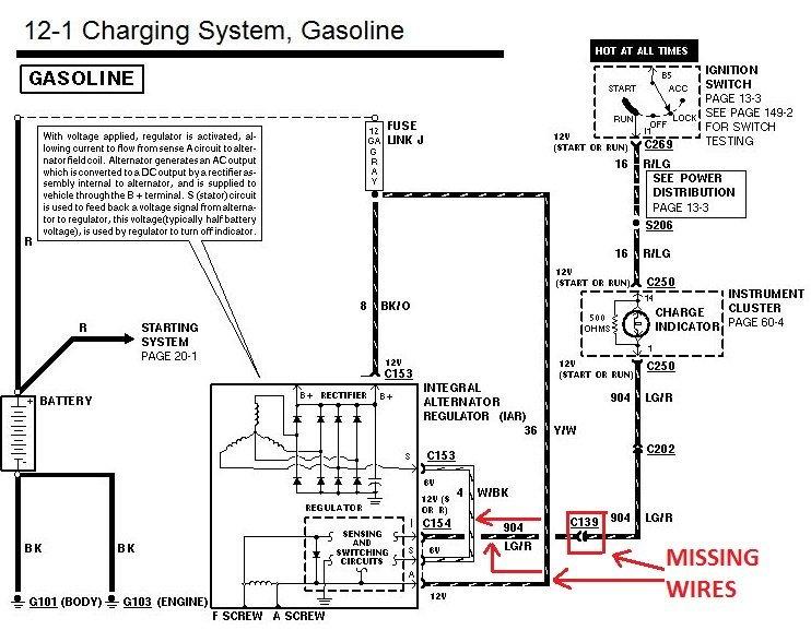 La Alternator Wiring Diagram
