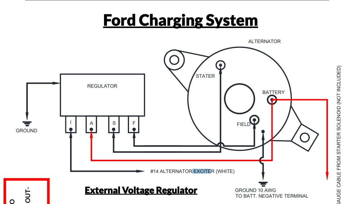 [DIAGRAM] 2wire Alternator Voltage Regulator Wiring