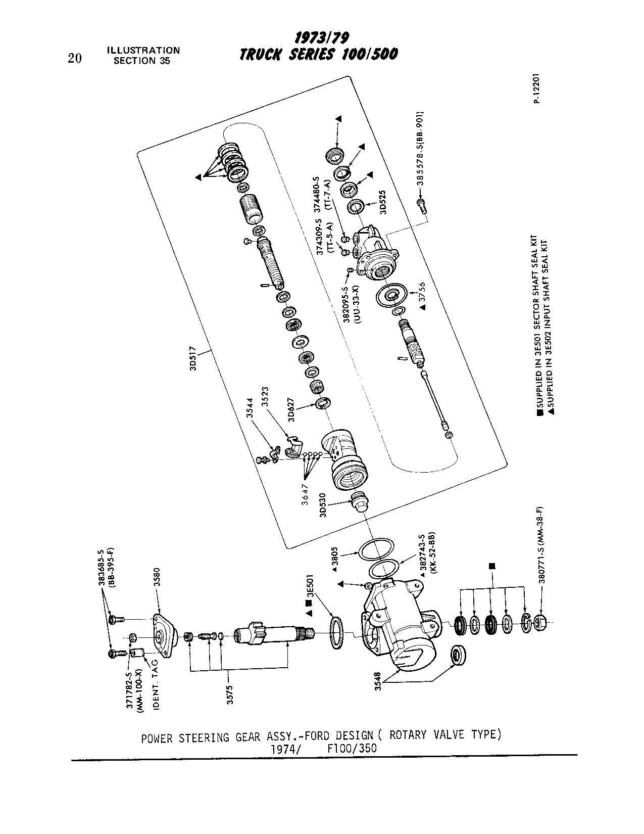 F 250 Steering Box Rebuild
