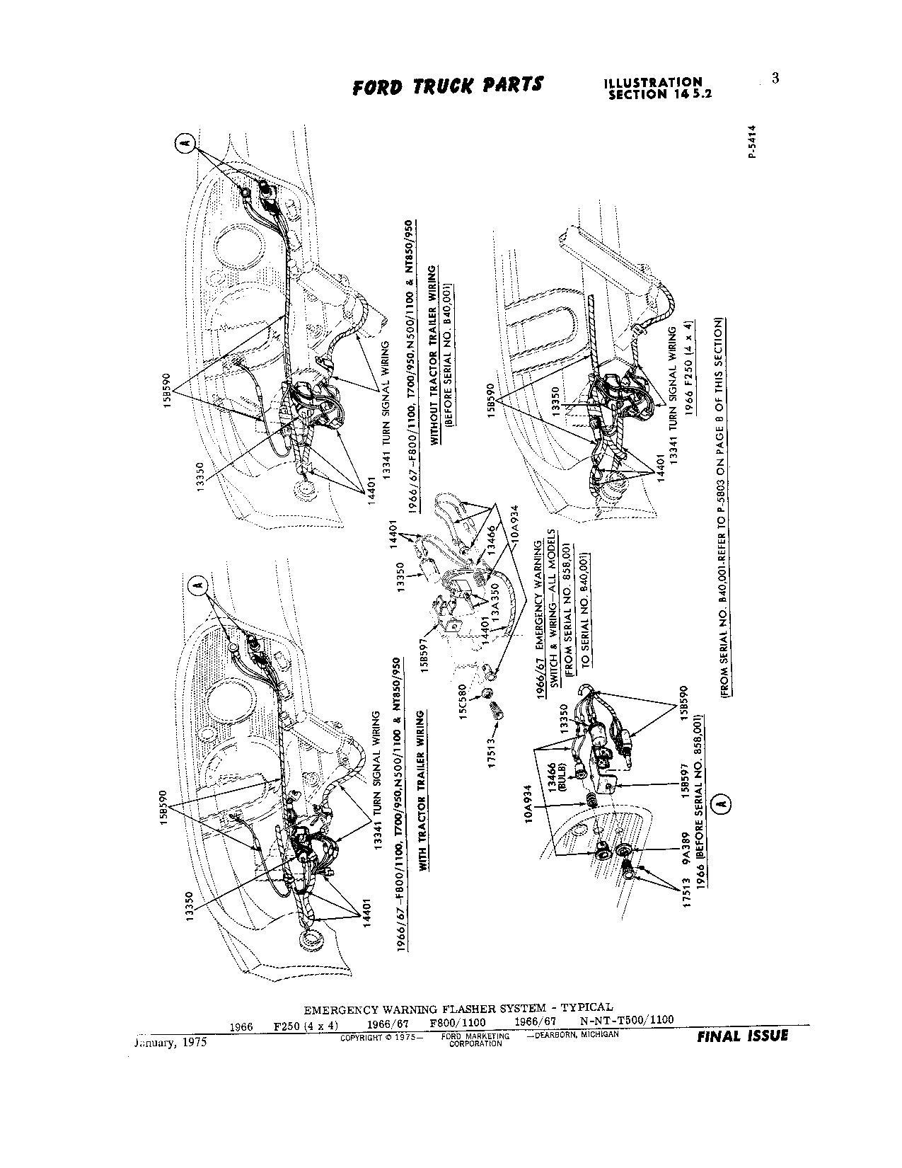 hight resolution of  diagram turn signal flasher relay location ford truck enthusiasts forums on 1950 ford car light switch