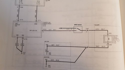 small resolution of rear locker on an upfitter switch ford truck enthusiasts forums 2011 ford super duty wiring diagram locker