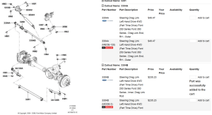 Steering parts for 2006 F250  Ford Truck Enthusiasts Forums