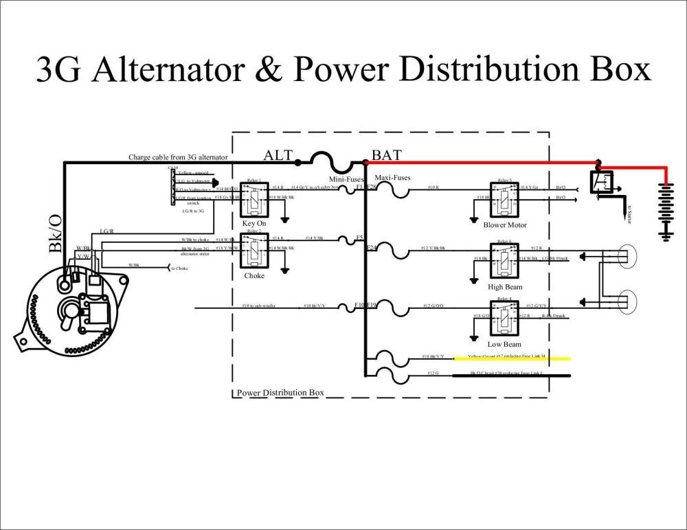 medium resolution of ford motorcraft alternator wiring diagram images gallery