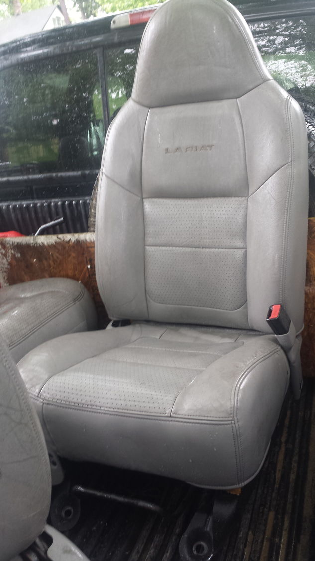 2012 F250 Leather Seat Covers
