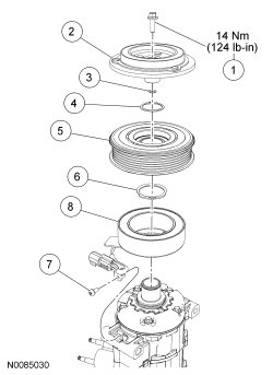 2006 Ford F150 5 4 Serpentine Belt Diagram Without Ac