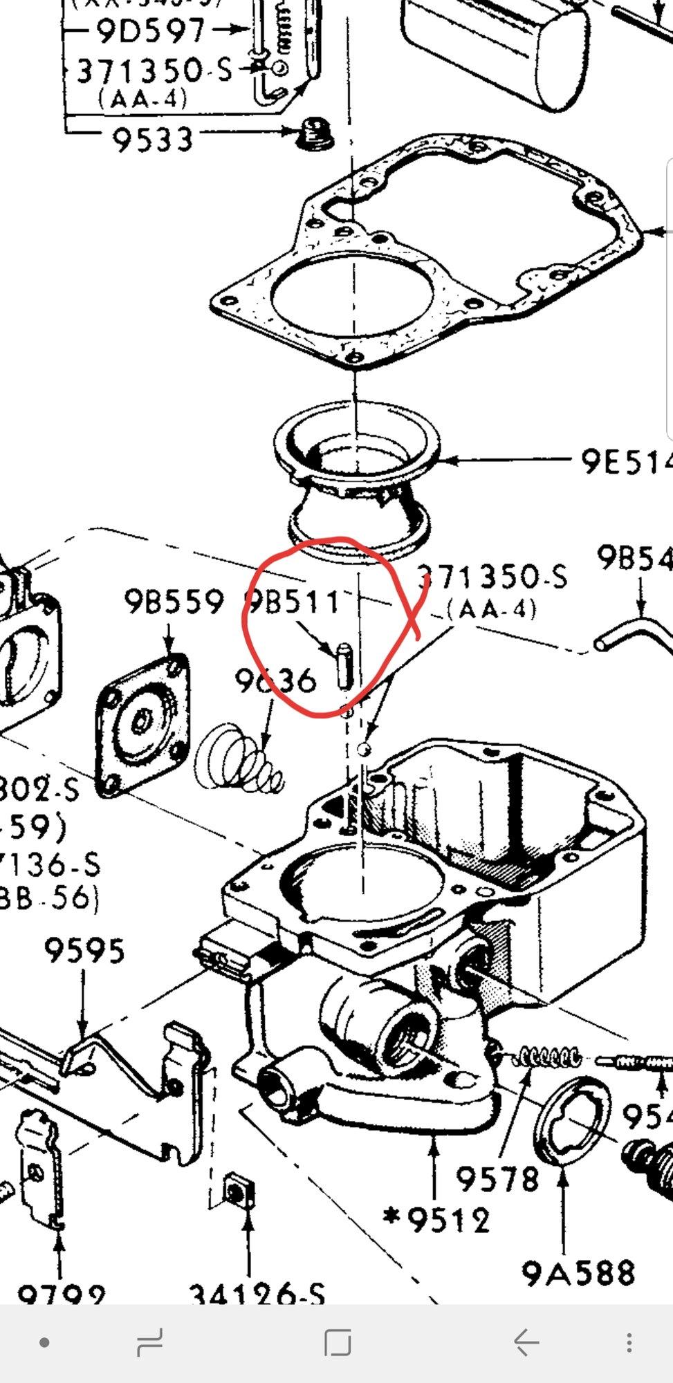 hight resolution of quadrajet parts diagram wiring diagrams the quadrajet parts diagram