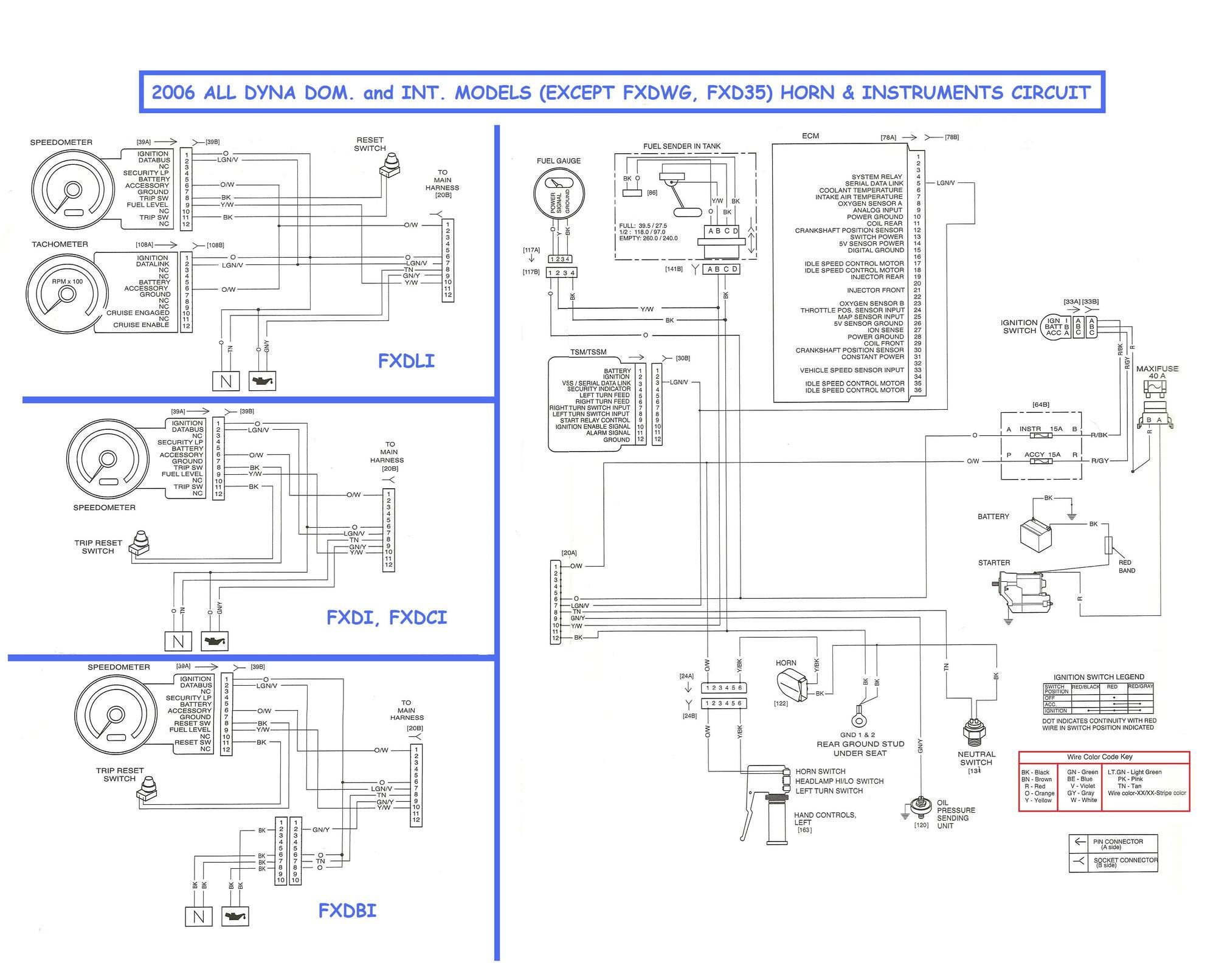 hight resolution of 1999 fxdl speedo swap to 5 wiring help harley davidson forums1999 harley fxst wiring diagram 7